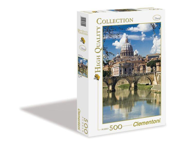 71b5e5a3 CLEMENTONI puzzle Rzym Roma 500 elementów 30344 • Arena.pl