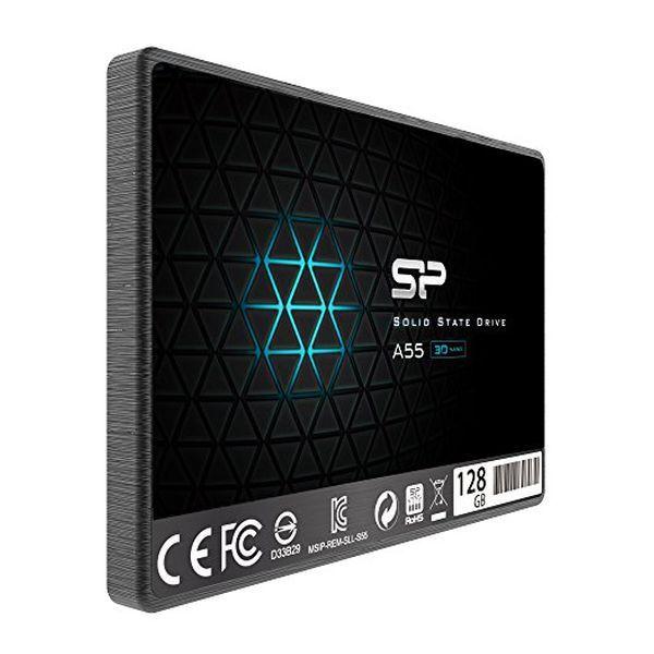 """Dysk Twardy Silicon Power IAIDSO0184 128 GB SSD 2.5"""" SATA III zdjęcie 2"""