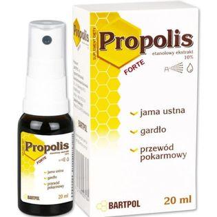 Propolis Forte Ekstrakt 10% 20ml Bartpol