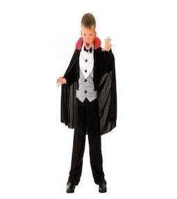 Strój na Halloween Pan Drakula dla dzieci 4-6 lat zdjęcie 1