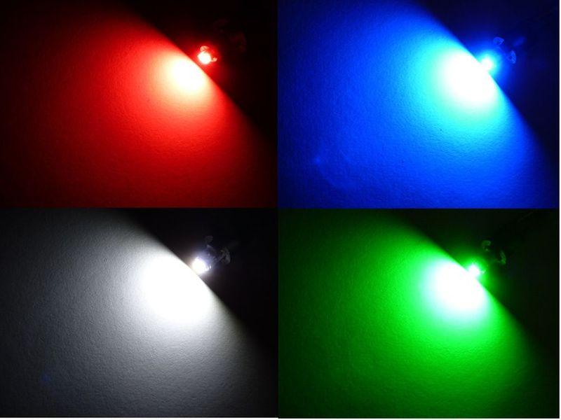 żarówka LED SMD do przycisków nawiewów pokręteł 12v T5 12mm KOLORY na Arena.pl
