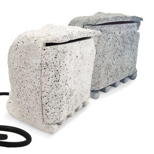 Przedłużacz Ogrodowy Kamień 4 Zamykane Gniazdo Kolor Biały lub Szary