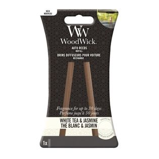 Zapach Do Auta WoodWick - Uzupełniacz White Tea & Jasmine