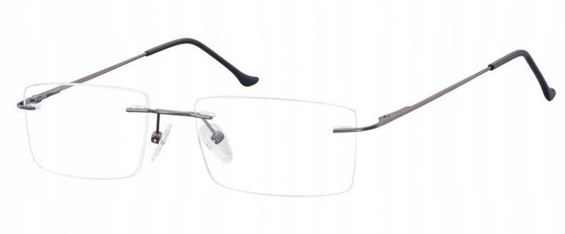 Bezramkowe okulary oprawki okularowe unisex optyk zdjęcie 1