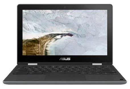 Asus Chromebook Flip C214Ma 11.6/4Gb/n4000/ssd64Gb/szaro-Czarny