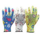 Rękawice rękawiczki Ochronne Ogrodowe powlekane nitrylem 3 pary