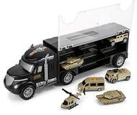 Wojskowa ciężarówka z walizką z militarnymi autami TIR Y177