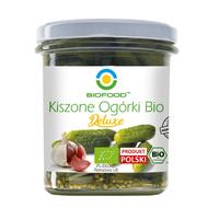 OGÓRKI KISZONE DELUXE BIO 320 g (230 g) - BIO FOOD