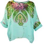 Letnia przewiewna tunika kimono oversize rozmiar 46/48