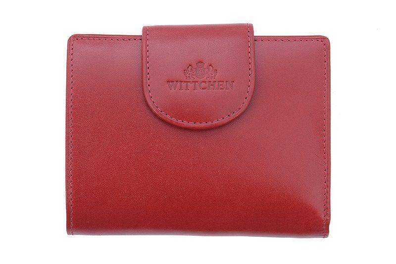 d2cc4f8198a12 Portmonetka Wittchen, kolekcja: Italy w kolorze czerwonym • Arena.pl