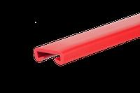 Listwa poręczowa PCV PREMIUM, poręczówka 40x8mm czerwony 1mb