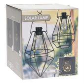 Lampa solarna ogrodowa LED wisząca ekologiczna zdjęcie 2