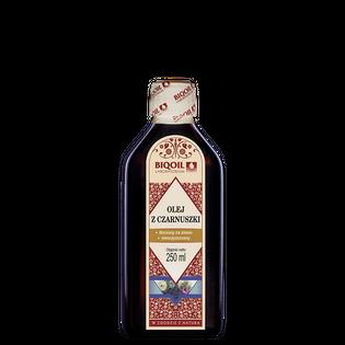 Olej z czarnuszki 250 ml tłoczony na zimno