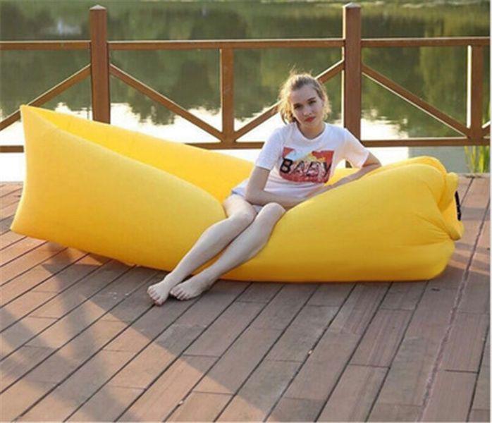 Lazy bag air sofa materac leżak łóżko 9 kolorów zdjęcie 4