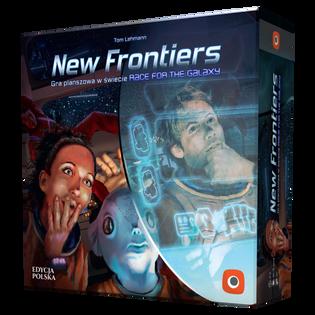NEW FRONTIERS  GRA PLANSZOWA PORTAL GAMES