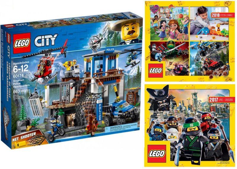 Lego City 60174 Górski Posterunek Policji 2 Kata Arenapl
