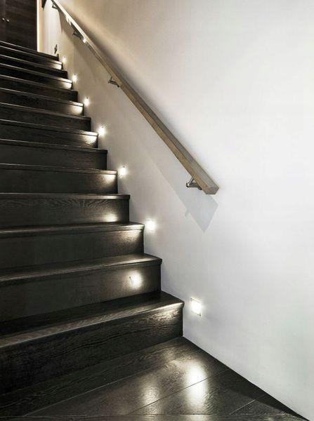 Kanlux Oświetlenie Schodowe Led Ciepła Zimna Aluminium Szczotkowana