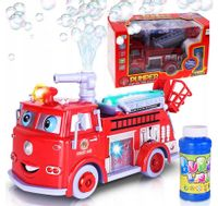 Bańki Mydlane dla dzieci Straż Pożarna WÓŻ STRAŻACKI Y35