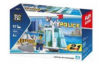 Klocki Blocki Policja 2w1 57 EL. Posterunek