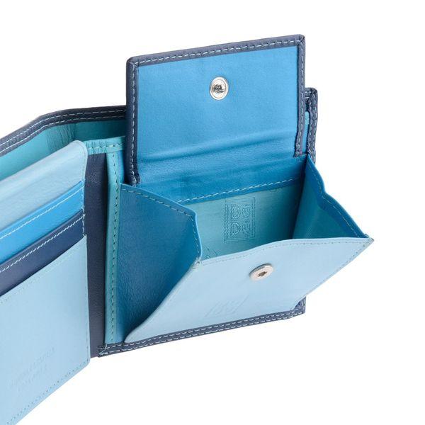 f26d88881addd Skórzany mały portfel DuDu® RFID, 534-421R niebieski • Arena.pl