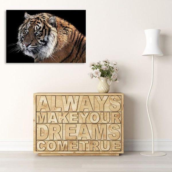 Obraz na płótnie - Canvas, Tygrys 3 70x50 na Arena.pl