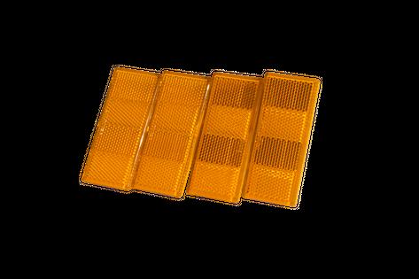 Lampa odblaskowa pomarańczowa do przyczep