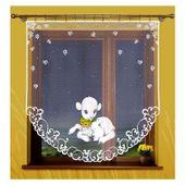 Firanka Baranek 150 x 150 cm - Pokój dziecięcy | WNB214 zdjęcie 1