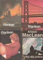 Alistair MacLean Zestaw 4 książek Złote wrota, Rzeka śmierci, San Andreas, Tylko dla orłów Alistair MacLean