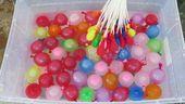 BALONY WODNE 100 szt BALON NA WODĘ BOMBY kolorowe zdjęcie 3