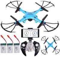 Dron DH-500 Wind Velocit Kamera WiFi na Żywo Funkcja Zawisu 3xAku Z480