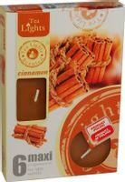 Duże podgrzewacze Tealight Maxi a'6 Cinnamon