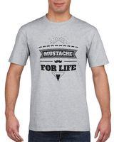 Koszulka męska MUSTACZE FOR LIFE HIPSTER WASY s XL