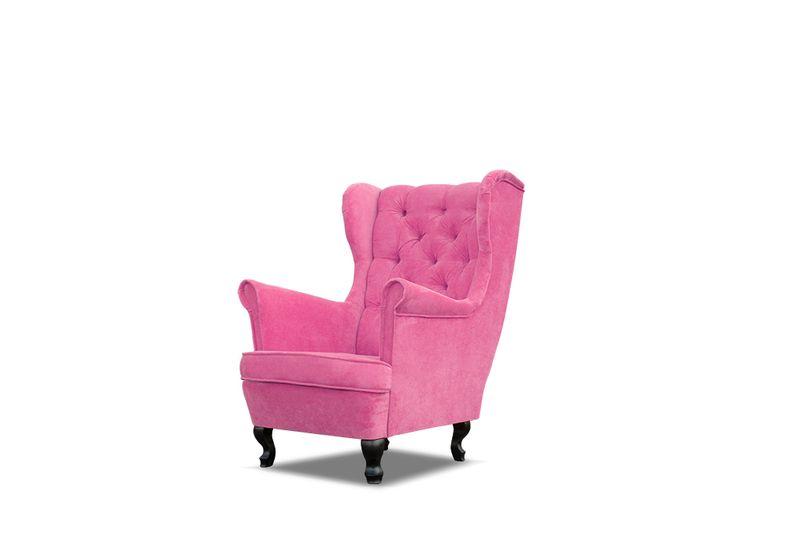 Fotel uszak pikowany 15 guzików styl skandynawski HIT producent zdjęcie 10