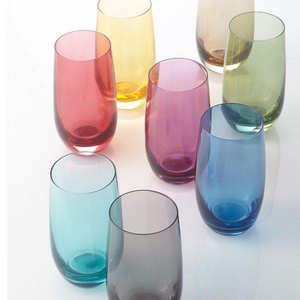 Szklanka 390 ml fioletowa COLORI Leonardo zdjęcie 3