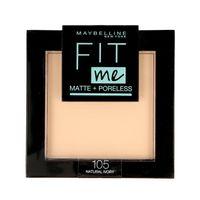 Maybelline Fit Me! Puder kompaktowy Matte+Poreless nr 105 Natural Ivory  9g