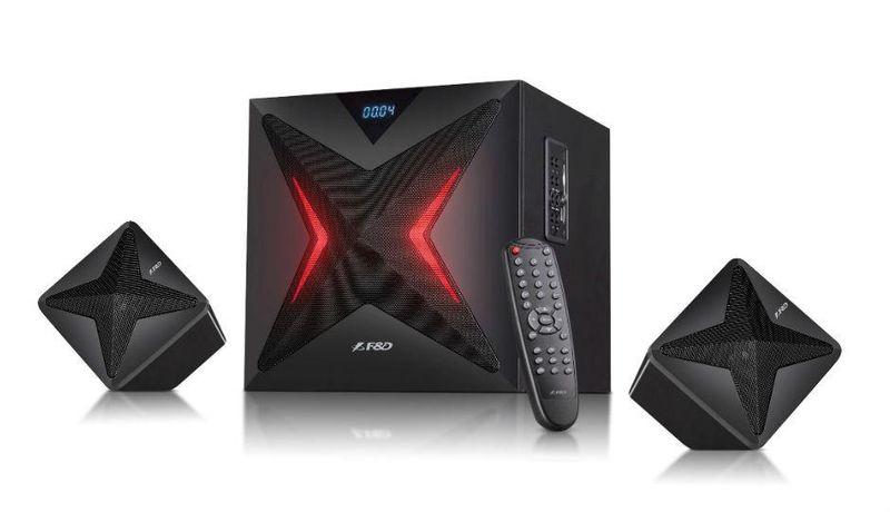 Głośniki Fenda F550X 2.1 USB TF BT NFC LED na Arena.pl