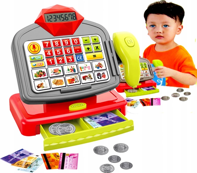 KASA SKLEPOWA DOTYKOWA Kalkulator Skaner AGD zdjęcie 2