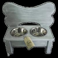 Stojak, Bufet z miskami dla psa rozm. II