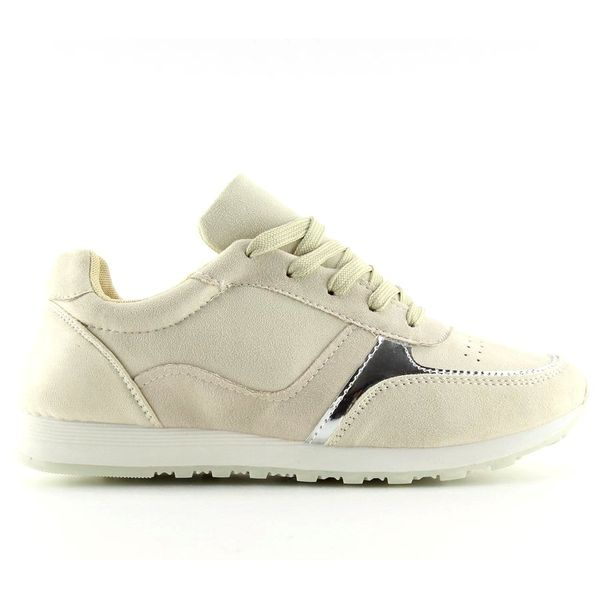 Buty sportowe beżowe LR88082 Beige r.38 zdjęcie 1