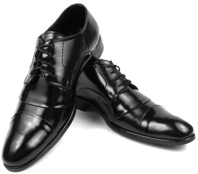 e8b510b31f2ce0 Wygodne czarne eleganckie buty męskie T33 Rozmiar Obuwia - 41 • Arena.pl