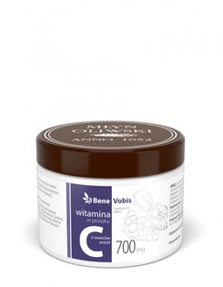 Witamina C w 100% z owoców aronii 250 g - Młyn Oliwski