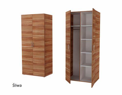 Szafa dwudrzwiowa Aga 2 CALWADOS Garderoba Sprawdź! na Arena.pl