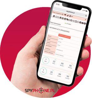 Monitoring spyphone telefonu smartfona tabletu na żywo 24h na 2 dni