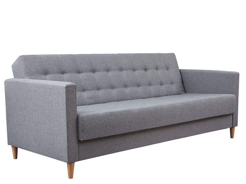 Skandynawska sofa Quest z pojemnikiem - kanapa rozkładana zdjęcie 1