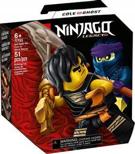 LEGO NINJAGO Cole vs Wojownik-Duch zestaw 71733