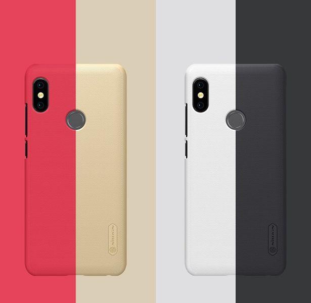 Nillkin Etui Frosted Xiaomi Redmi Note 5/PRO Czarne zdjęcie 6