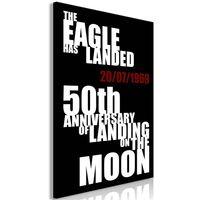 Obraz - Lądowanie na księżycu (1-częściowy) pionowy