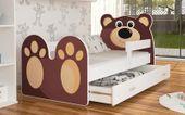 Łóżko MIŚ 160x80 + szuflada + materac