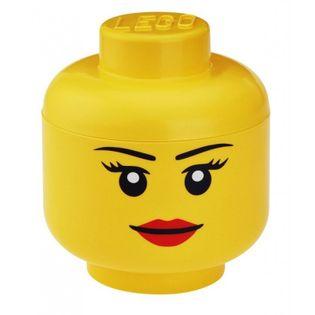 Pojemnik głowa LEGO - dziewczynka  S