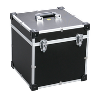 Walizka aluminiowa transportowa mała -365x365x375 mm